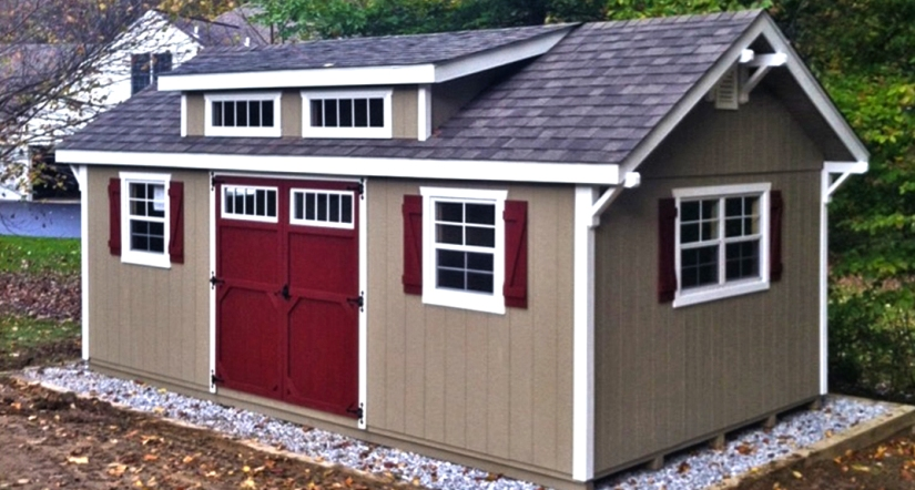 House like shed