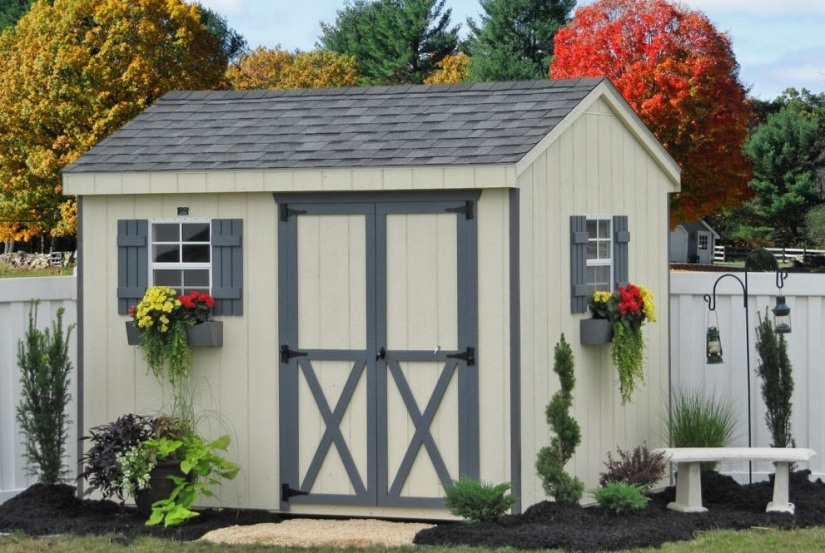 Wood shed 3
